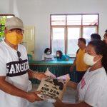 488 KK Pekerja Informal Se-Kecamatan Tamako Terima Bapok