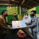 Walikota JFE Catat Pernikahan Hizkia Dan Brenda