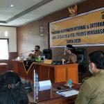Polres Minahasa gelar Pengisian Responden Internal dan ITK Tahun 2020