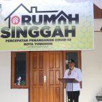 Walikota JFE Resmikan Pemanfaatan Rumah Singgah Ke Tiga Di Sulut