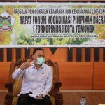 Walikota JFE Pimpin Rapat Forkopimda Bahas Program Peningkatan Keamanan Dan Kenyamanan Lingkungan
