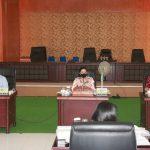Ketua Pansus LKPJ Ladys Turang, Rapat Pembahasan Dengan Perangkat Daerah