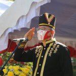 Walikota JFE Jadi Irup Peringatan Ulang Tahun Ke-75 Republik Indonesia Di Kota Tomohon